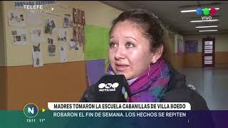 TOMAN ESCUELA CABANILLAS DE VILLA BOEDO POR ROBOS E INSEGURIDAD
