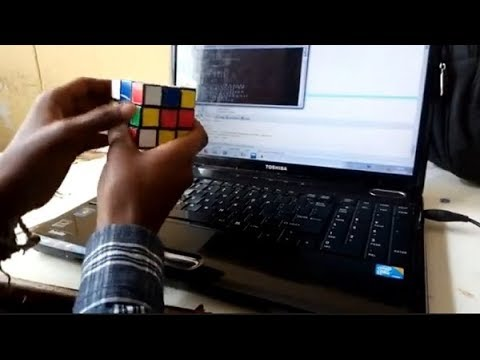 Addis Ababa University first year computer science students write a program to solve Rubik's Cube