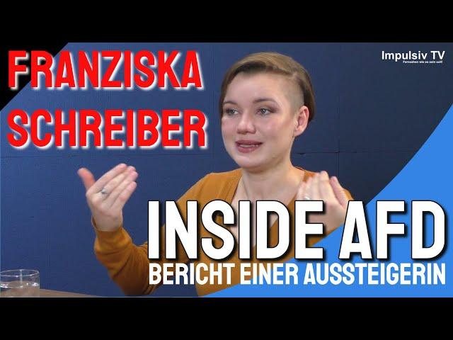 Franziska Schreiber: Inside AFD: Der Bericht einer Aussteigerin