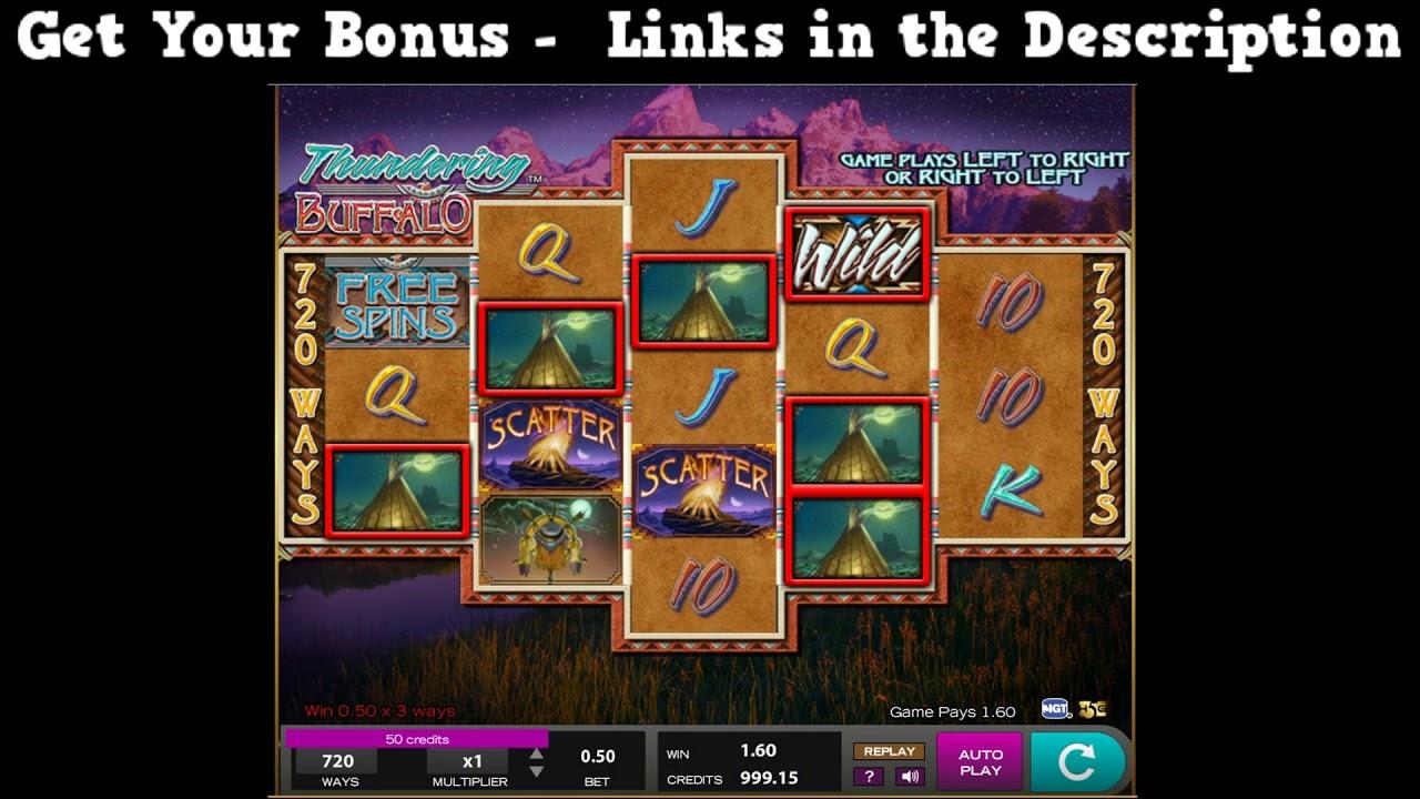 Spiele Thundering Buffalo - Video Slots Online