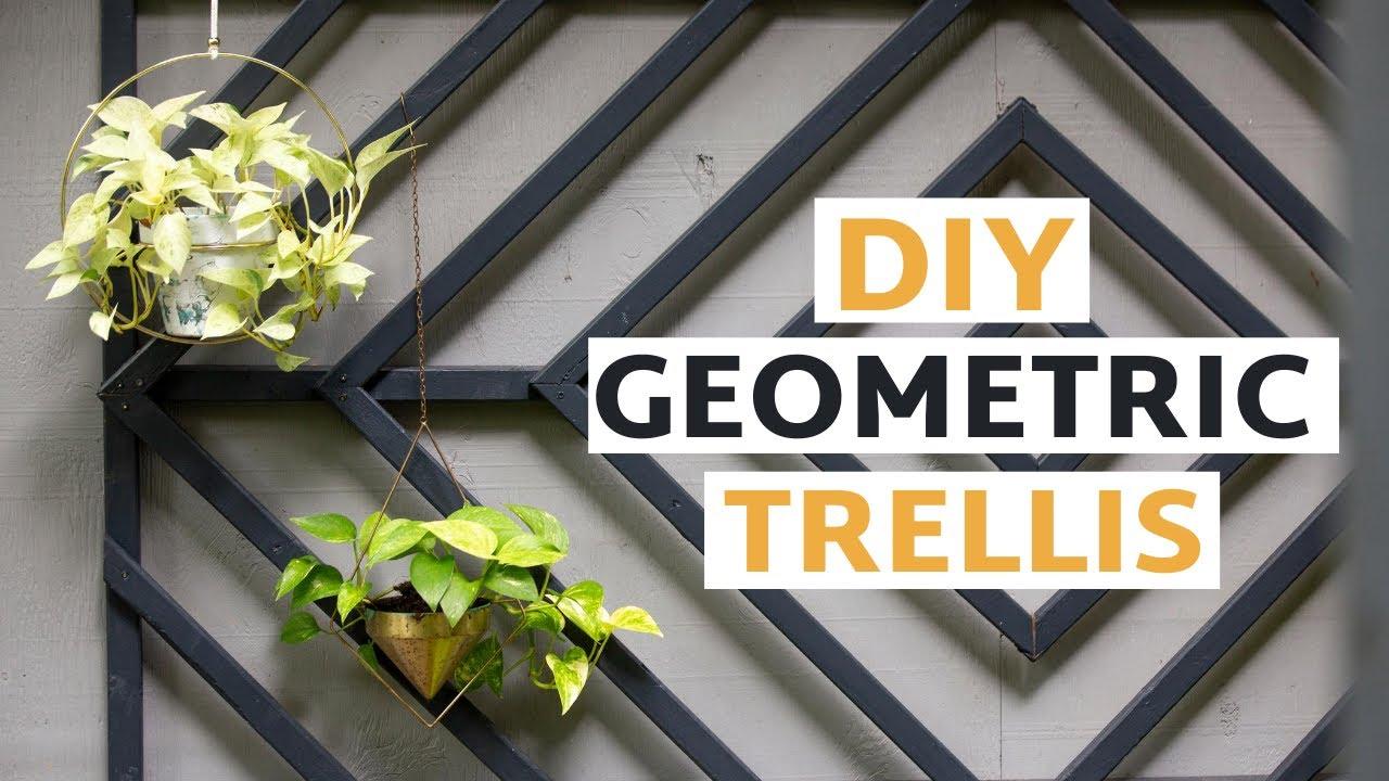 Make This DIY Outdoor Trellis