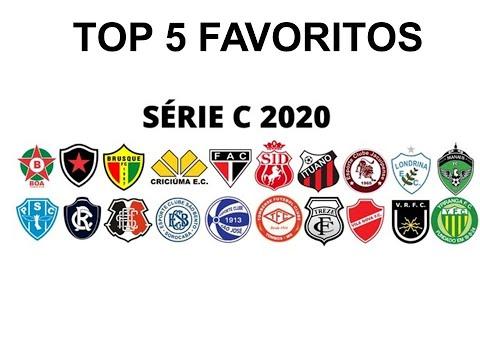 Brasileirao Serie C Top 5 Favoritos Tabela E Classificacao Futebol E Estatistica 14 Set Youtube