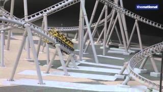 Ferrari World's latest world record-breaking roller coaster