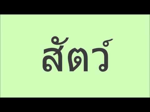 คำศัพท์ภาษาพาที ป ๑ บทที่  ๘ พูดเพราะ