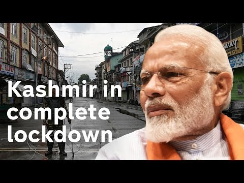 Kashmir communications blackout - but India PM Modi pledges 'bright future'