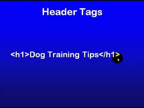 9 - SEO Education 101 Using Header Tags Effectively