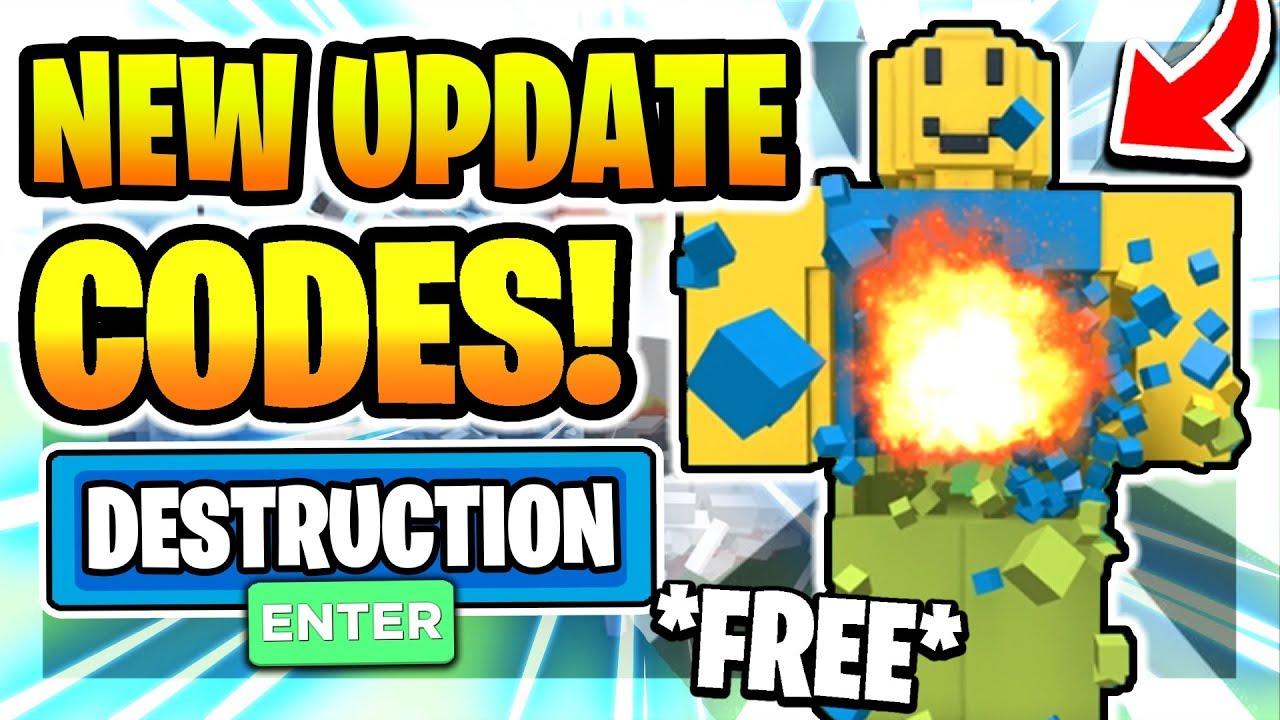 All New Secret Op Codes In Destruction Simulator Update