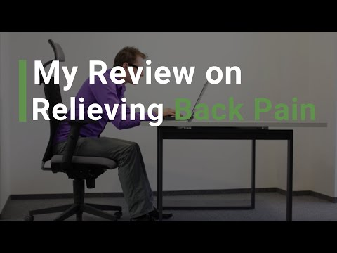 My Review on Relieving Back Pain!