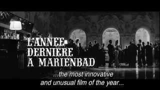 Last Year at Marienbad / L'Année dernière à Marienbad (1961) - Trailer (english subtitles)