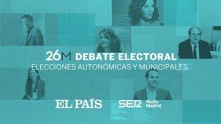 DIRECTO | DEBATE electoral de candidatos a la Comunidad de MADRID
