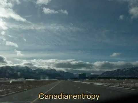 Calgary to Vancouver Island in Winter - time lapse - part 1 of 7