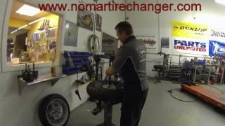 """Heidenau K60 Tire Change w/5'6"""" Tall Installer"""