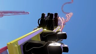 Built a Roller Coaster That Turns People Into Jelly - Parkitect