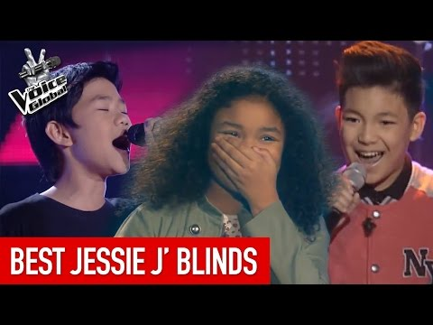 The Voice Kids  BEST &39;JESSIE J&39; Blind Auditions
