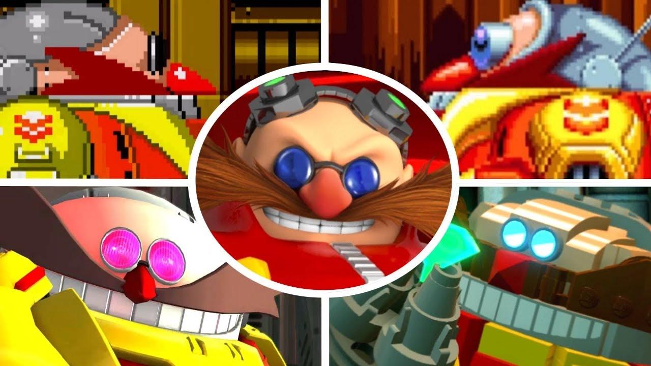 Download Evolution of Death Egg Robot Battles in Sonic Games (1991-2017)