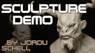 Jordu Schell Sculpture Demonstration for Dreamworks