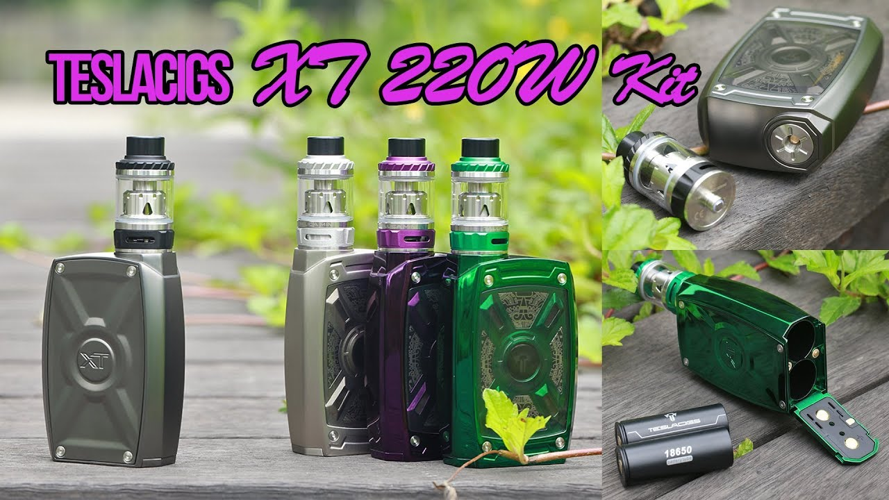 To Be Different! The Teslacigs XT 220W! - Elegomall