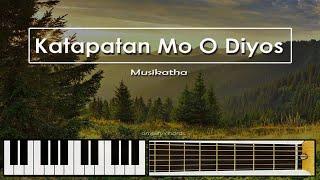 katapatan Mo O Diyos lyrics and chords