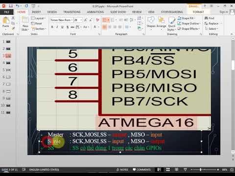 AVR | Bài 6 Giao tiếp SPI [14]
