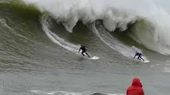 Surfing Mavericks on a Stand-Up Paddleboard SUP