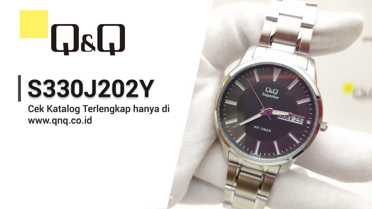 Q Q Superior S330j202y Jam Tangan Pria Analog Q Q Indonesia Youtube
