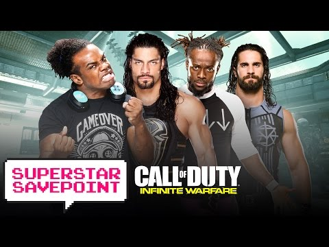 Call of Duty: Infinite Warfare: Reigns & Rollins team up with Creed & Kofi! — Superstar Savepoint