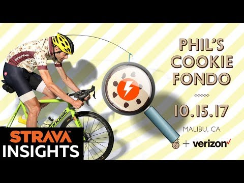 """Strava Insights: Phil's Cookie Fondo '17 - """"Rise of the Elemnt BOLT!"""""""