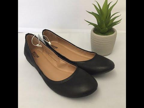 Mossimo Womens Black Ballet Flats Ona Supply Co Shoes