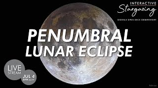 Penumbral Lunar Eclipse | Full Buck Moon 2020