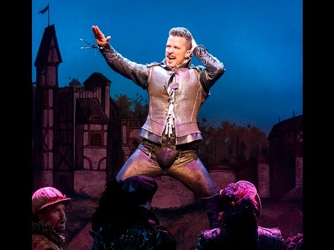 Will Chase Gyrates in Something Rotten