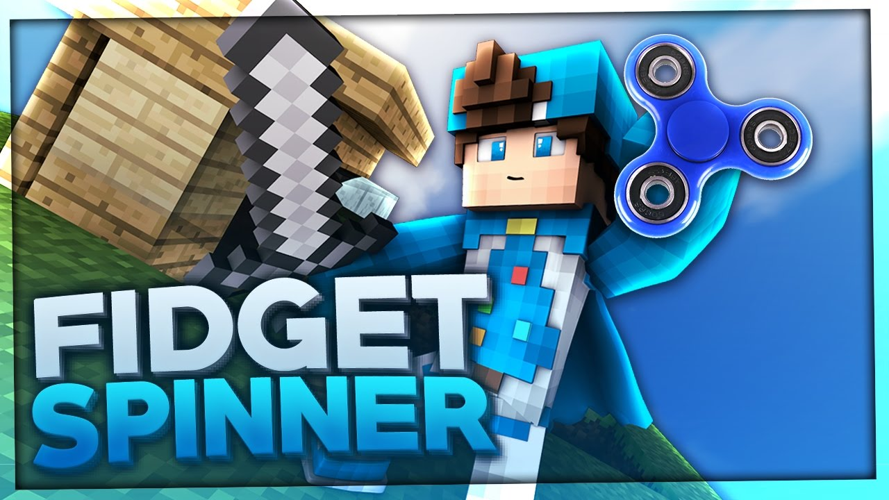 FIDGET SPINNER Minecraft TEXTURE PACK BaumBlau YouTube - Gomme skin fur minecraft pe