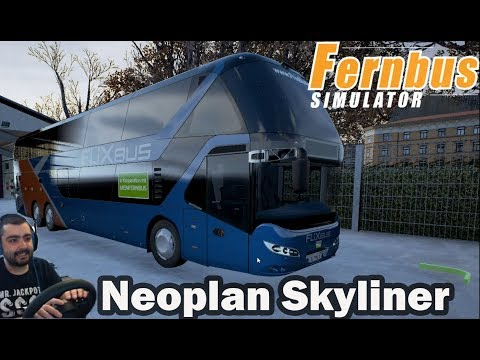 Откривам нов град и нов Автобус  Fernbus Coach Simulator #4