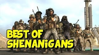 battlefield 3 shenanigans best of episodes 31 40 bf3 funny moments
