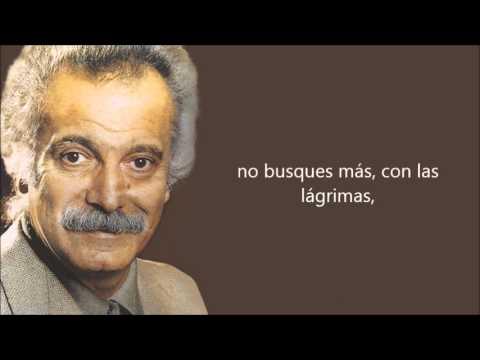 Georges Brassens -Les sabots d'Hélène- (Los zuecos de Elena) Subtitulado al castellano.