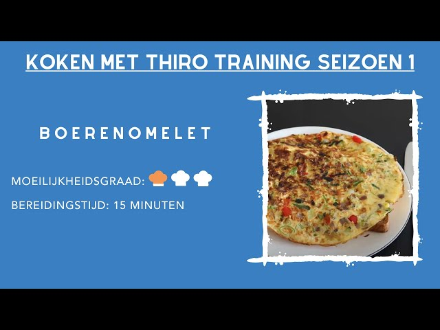Kook Video #2 Boerenomelet