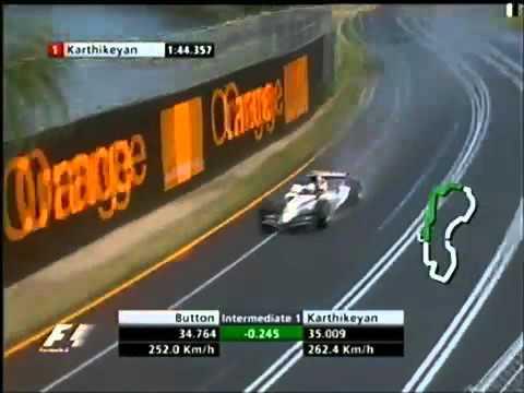 F1 Melbourne 2005 Q1   Jenson Button Lap