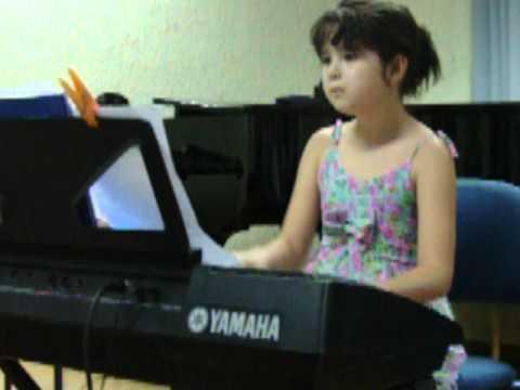Sarah E Concert Organ - Can Can
