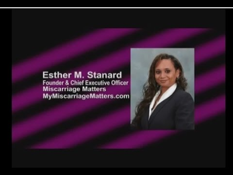 LM 483 Esther Stanard, MisCarriage Matters