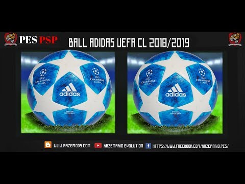 new-balls-•-adidas-uefa-champions-league-•-2018---2019-|-pes-psp-ppsspp