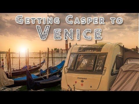 Getting 'Casper the Caravan' to Venice - Our European Road Trip