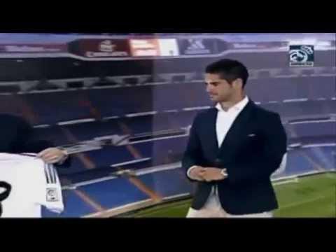 Presentación de Isco en el Real Madrid.