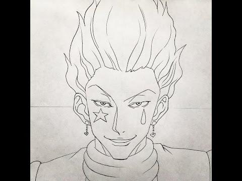 How To Draw Hisoka Hunterxhunter By Erza Scarlet Art
