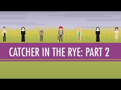 Holden, JD, And The Red Cap - The Catcher In The Rye Part 2: Crash Course English Literature #7