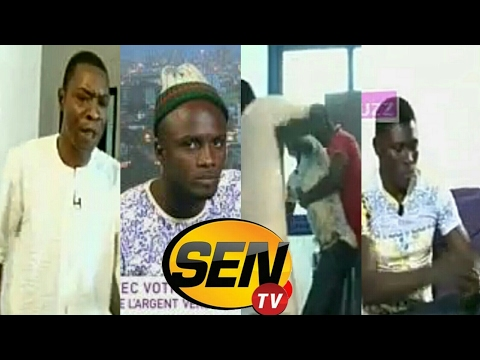 Aba de retour à la Sen TV, se bat en direct avec Mbaye… Regardez