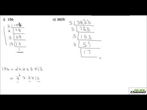 Prime factorization Division method and Tree diagram