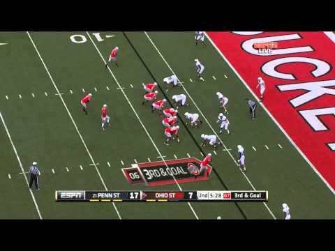 "Jack Crawford  vs Ohio State ""MIke Adams"" 2011"