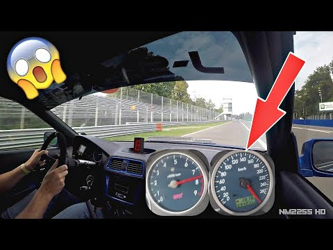 745HP Subaru Impreza EMBARRASS Porsches On Track! - OnBoard @ Monza + Speedo View!