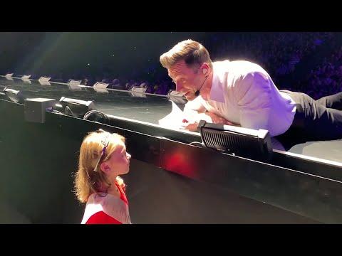 Ron Verb - Hugh Jackman Makes Little Fan's Birthday Wish Comes True