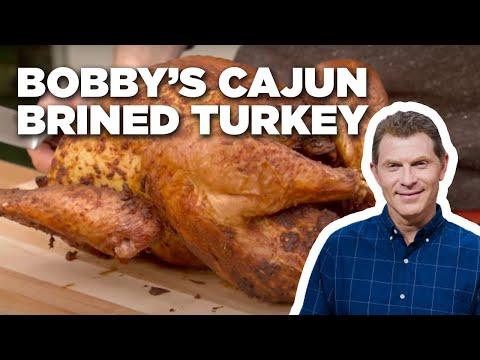 Bobby Flay's Cajun Brined Turkey | Food Network