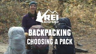 How to Choose Bąckpacking Packs || REI